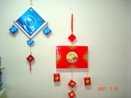 中秋节吊饰_幼儿园挂饰吊饰图片