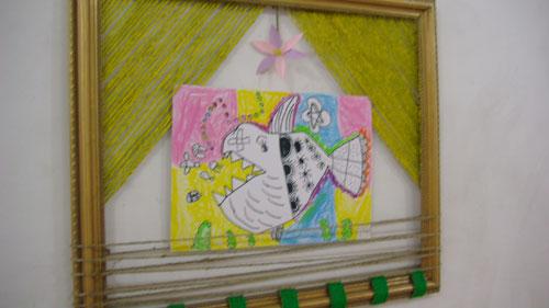 幼儿园涂鸦墙边框