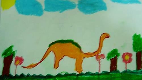 彩泥手工制作大全 恐龙