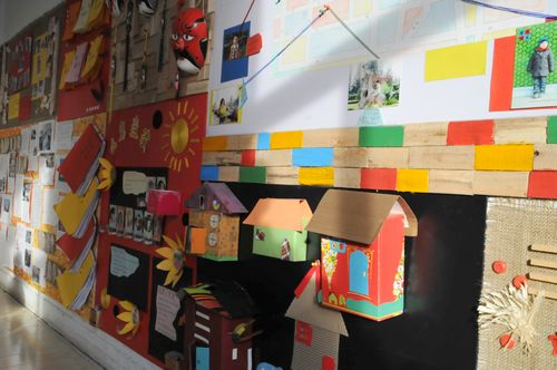 教室墙面设计板块