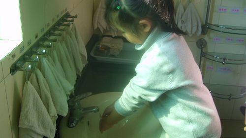 幼儿五步洗手法;