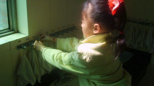 预防春季疾病,五步洗手法(金城园)