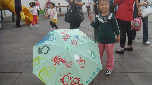 子系列活动之手绘雨伞