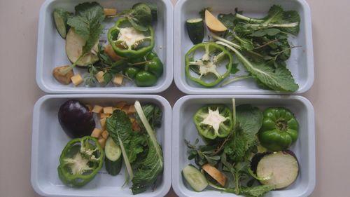 蔬菜拓印边框设计图片大全图片