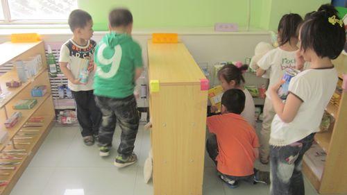 幼儿园超市收银台做步骤图片