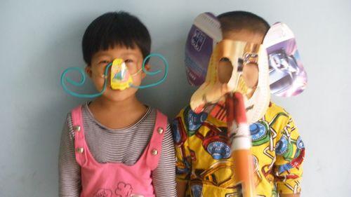 纸杯手工制作动物鼻子