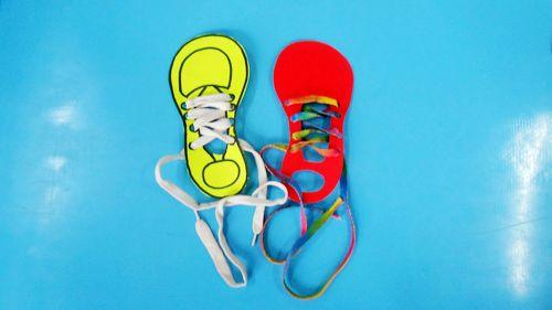 穿鞋带 - 未来强者婴幼儿智力开发园