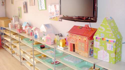 废弃物手工制作 房屋