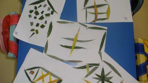 叶子拼图(水木园)