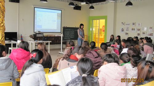 在培训活动中针对幼儿在国学教育中的养成教育进行了系统阐述,以及对