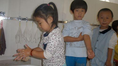 勤洗手,讲卫生 - 未来强者婴幼儿智力开发园