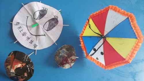 可爱的小雨伞 - 未来强者婴幼儿智力开发园
