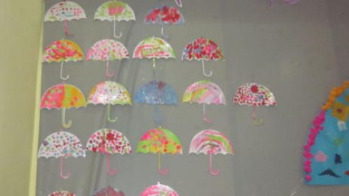 伞面画图片花图案设计