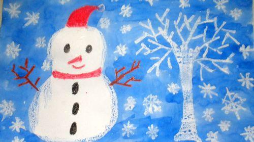 我画小雪人(苏州园)