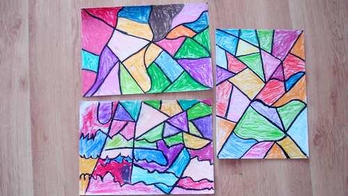 线的抽象画(燕都园)