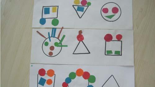 小魚樹房子兒童畫