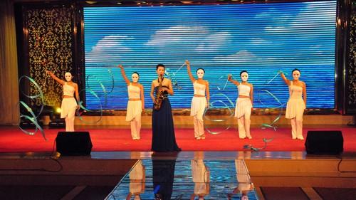 萨克斯独奏伴舞《祝你平安》(西焦园、博爱园)-未来强者幼教集团