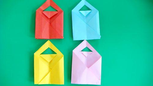 手提袋折纸步骤图解