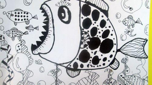 小鱼儿的简笔画 可爱 画法