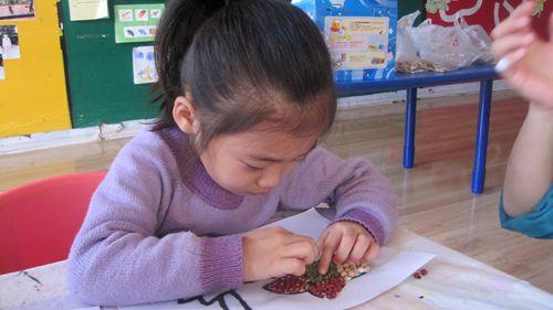 豆子贴画 燕都园