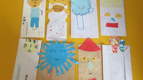制作信封手偶 - 未来强者婴幼儿智力开发园