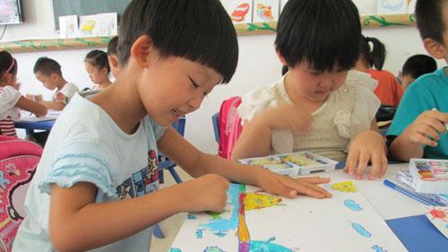 孩子学习绘画的好处 (西焦园)