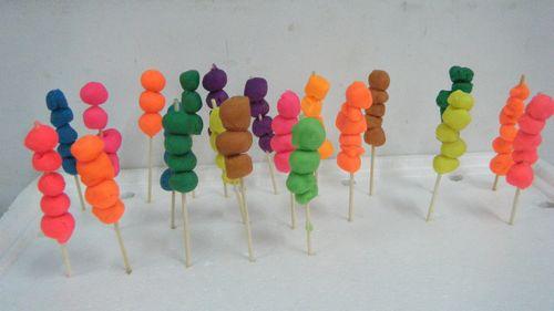 糖葫芦---泥工