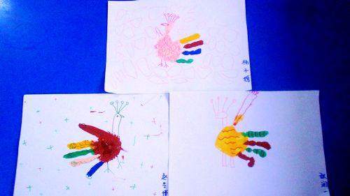 幼儿园纸袋手工制作孔雀