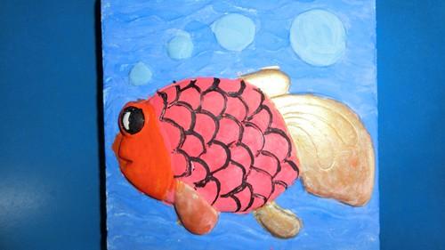 小鱼简笔画图片带颜色