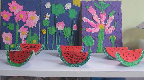 果盘西瓜皮 雕花 制作方法展示