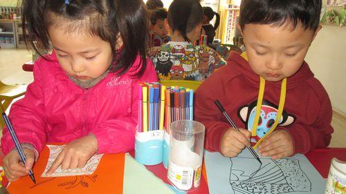 画画花瓶 - 未来强者婴幼儿智力开发园