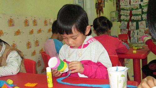 幼儿纸杯画小动物