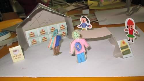 纸箱做娃娃房子的步骤图片