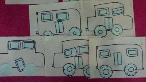 公共汽车儿歌曲谱