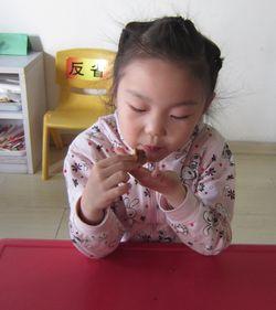 """""""老师我都忍不住口水了,这是我吃过的最好吃的桃酥谢谢您.""""-快图片"""
