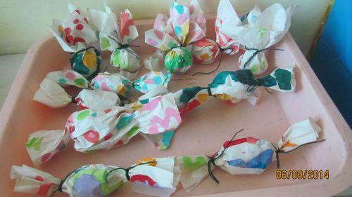 糖纸手工制作小动物