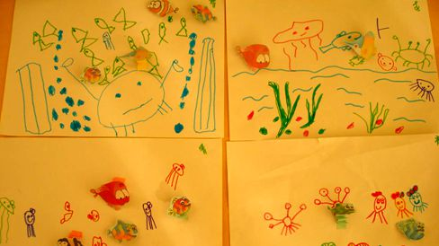 多彩的海底世界 - 未来强者婴幼儿智力开发园