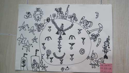 线描画艺术周 春江园