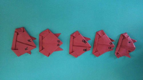 折纸 青蛙