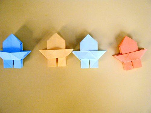 立体宝塔折纸步骤