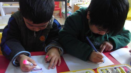 我的小手真能干之画彩虹城堡(博爱园) - 未来强者婴幼儿智力开发园