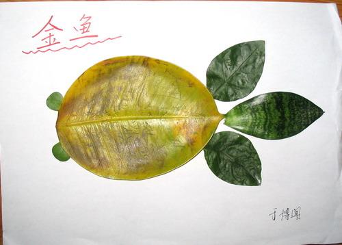 叶子拼图大全图片
