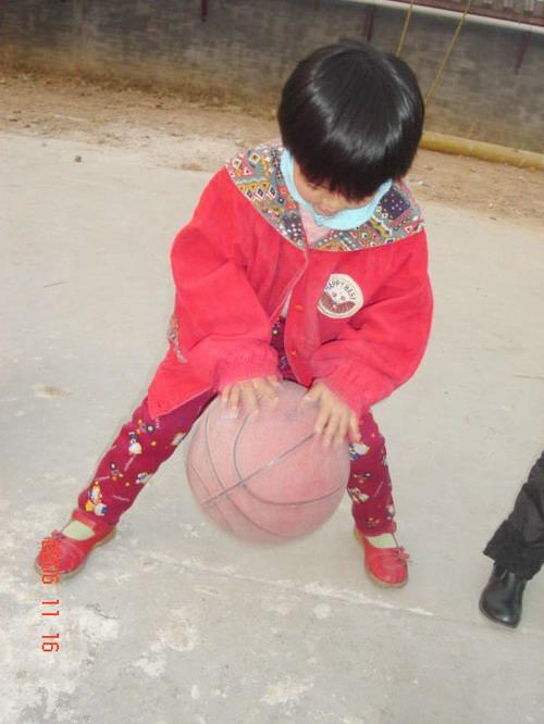 我与篮球的亲密接触(水木园)