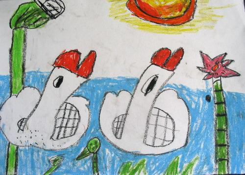 5岁儿童绘画