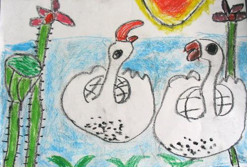 金南园美术作品 - 未来强者婴幼儿智力开发园