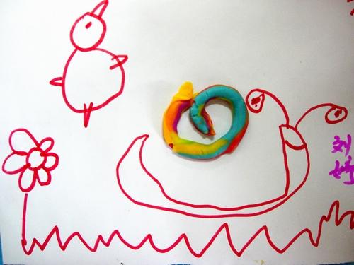 彩色的蜗牛壳更有质感