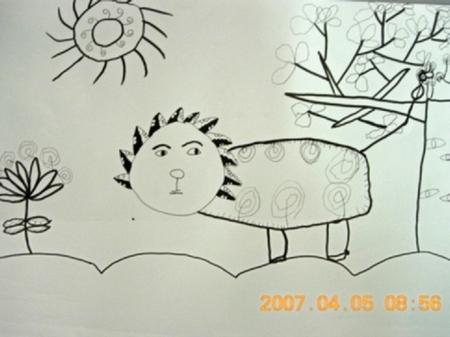 小学生美术作品大全 简笔画