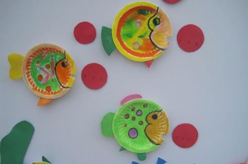 纸盘小鱼 - 未来强者婴幼儿智力开发园