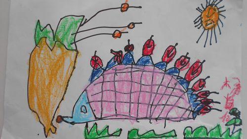小刺猬摘果子 - 未来强者婴幼儿智力开发园
